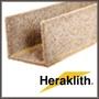 Heraklith U-zsalu 250x25x250